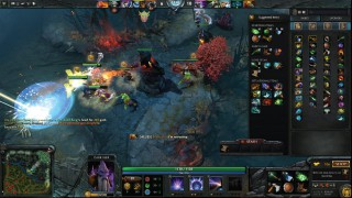 DOTA 2 Dire Fight Radiant Shot