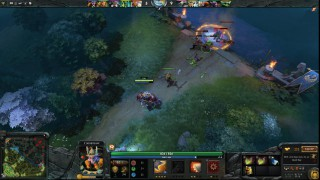DOTA 2 Radiant Fight