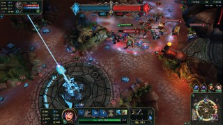 LOL Garen Fighting