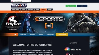 Pinnacle Sports eSports Betting Hub