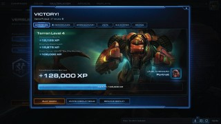 StarCraft 2 Victory Screenshot