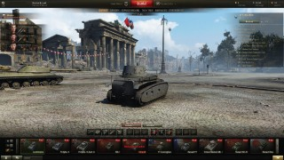 World of Tanks Battle Scene