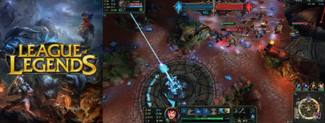 League of Legends eSport Screenshot